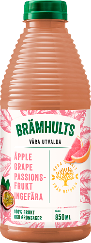 Brämhults Äpple,Grapefrukt, Passion, Ingefära