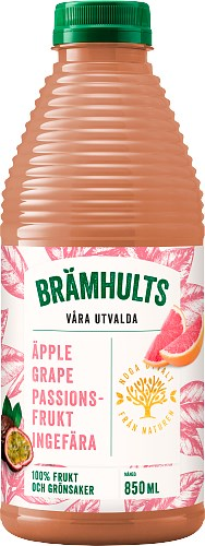 Brämhults Äpple,Grapefrukt, Passion, Ingefära