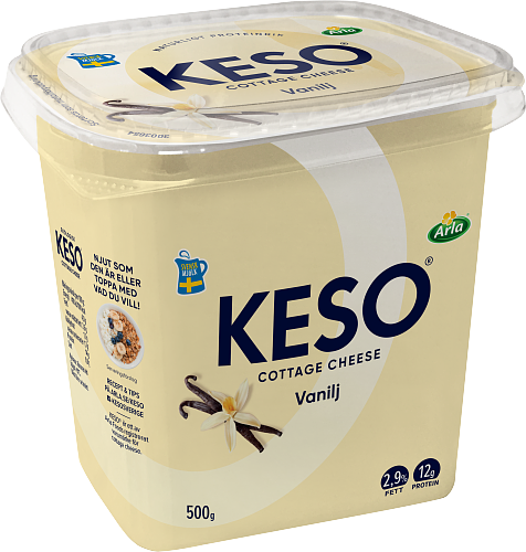 KESO® Cottage cheese vanilj 2,9%