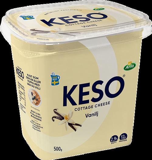KESO® Cottage Cheese Vanilj 2,9%