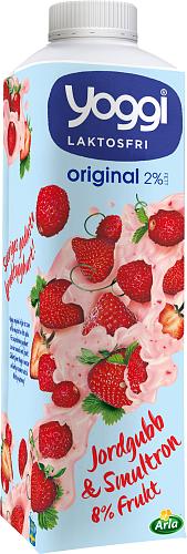 Yoggi® Original LF yoghurt jordg & smultr