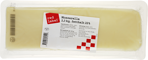 Red Label® Mozzarellafilé ost 22%