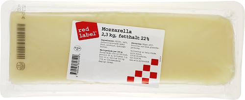 Red Label® Mozzarella Filé 22%