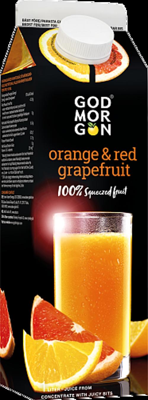 God Morgon® Apelsin/Röd Grape