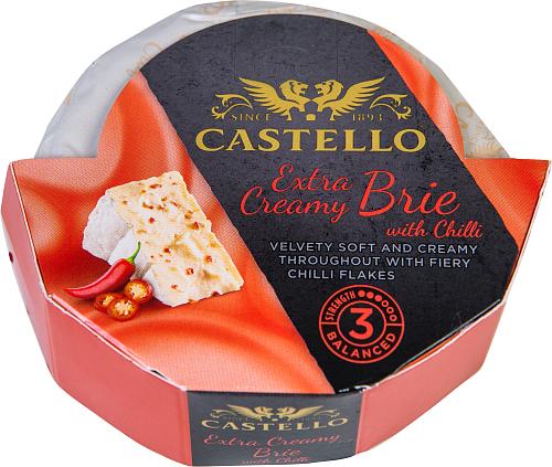 Castello® Extra Creamy Brie Chilli