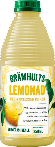 Brämhults Lemonad med nypressad citron