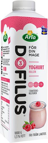 Arla® Dofilus yoghurt hallon 1,3%