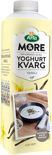 Arla® Yoghurtkvarg vanilj