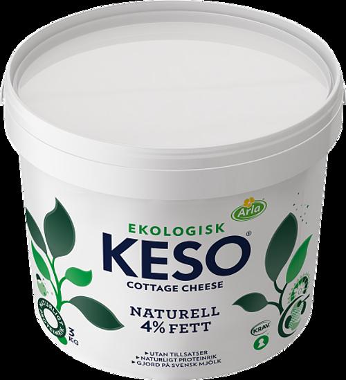 KESO® Cottage Cheese Ekologisk Naturell 4%