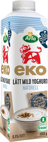 Arla Ko® Ekologisk Eko mild yoghurt lätt naturell 0,5%