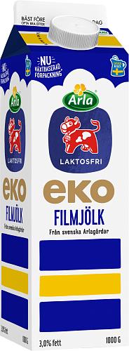 Arla Ko® Ekologisk Laktosfri ekologisk filmjölk 3%