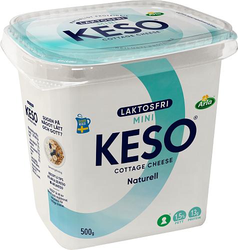 KESO® Laktosfri cottage cheese mini 1,5%