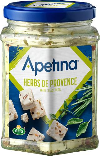 Apetina® Vitost tärnad i olja Provence 22%