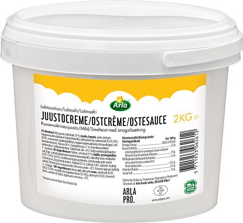 Arla Pro® Laktosfri mild ostcrème 24% hink