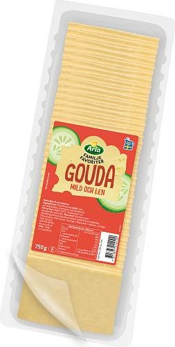 Arla® Familjefav Gouda skivad ost
