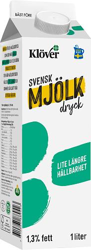 Klöver® Mjölkdryck 1,3%
