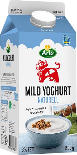 Arla Ko® Mild yoghurt naturell 3%