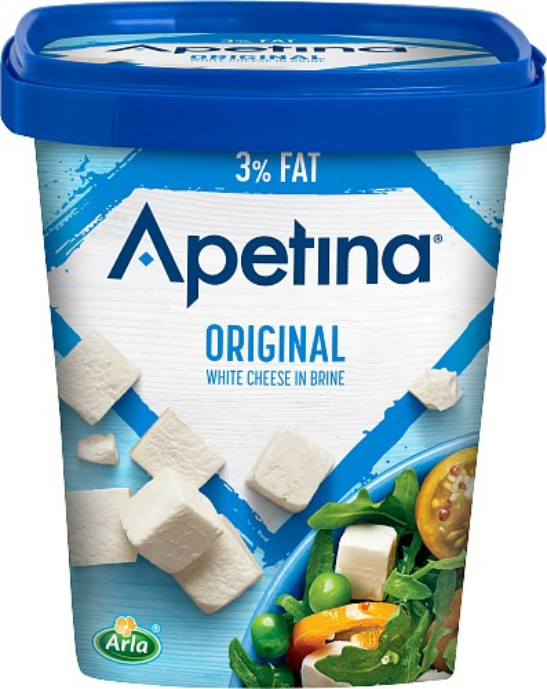 Apetina® Vitost tärnad i lake 3% fett