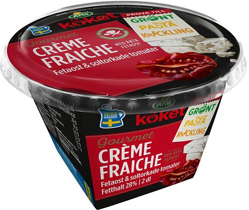 Arla Köket® Crème fraiche feta solt tomat 28%