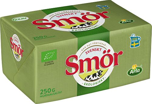 Svenskt Smör från Arla Eko smör normalsaltat 82%