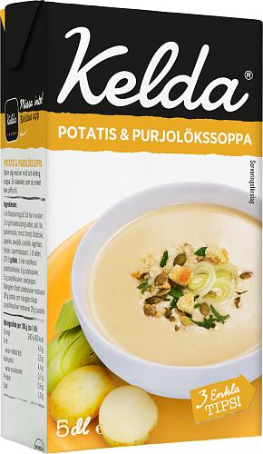 Kelda® Potatis & purjolökssoppa