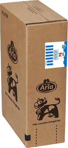 Arla Ko® Färsk lättmjölk 0,5% BiB