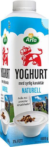 Arla Ko® Yoghurt naturell 3%