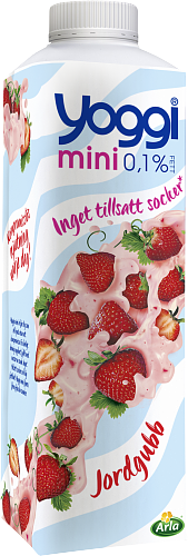 Yoggi® Mini yoghurt jordgubb