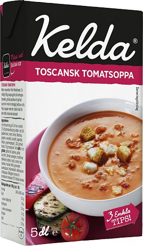 Kelda® Toscansk tomatsoppa