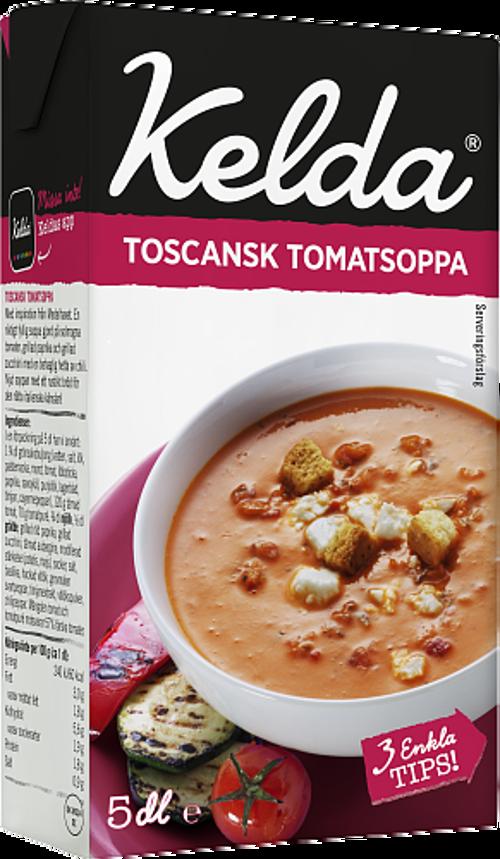Kelda® Toscansk tomatsoppa 3%