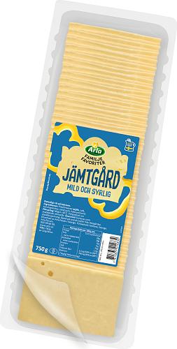 Arla® Familjefav Jämtgård skivad ost