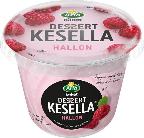 Arla Köket® Kesella® dessertkvarg hallon 5%