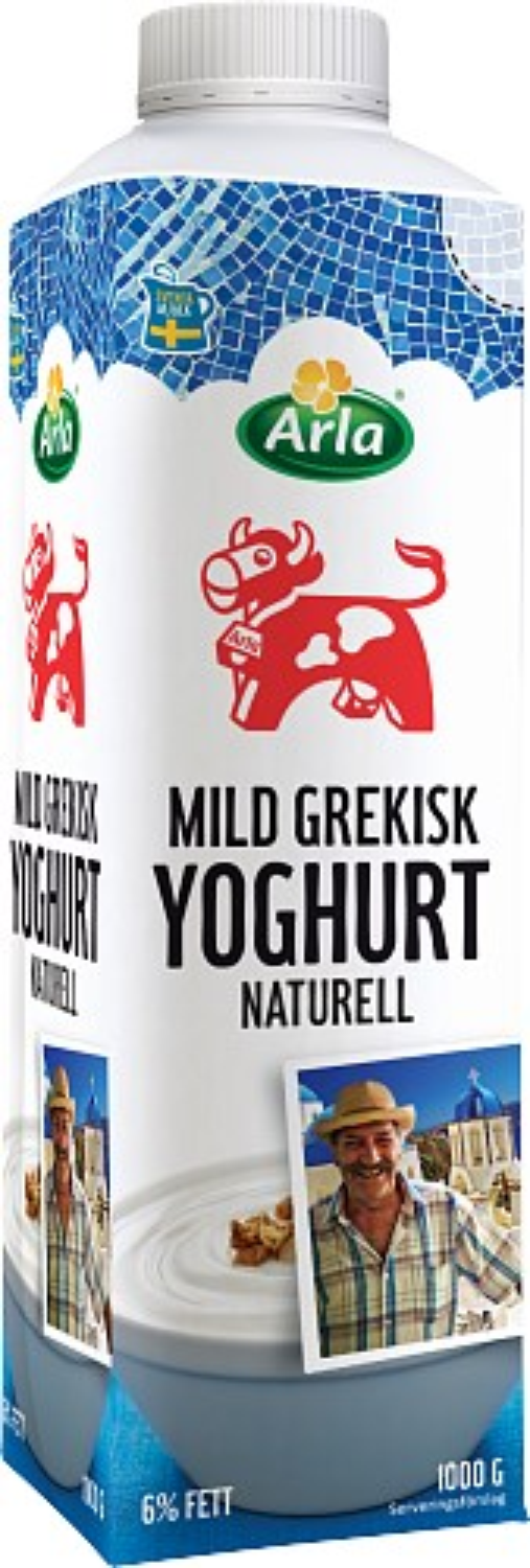 Arla Ko® Mild grekisk yoghurt 6%