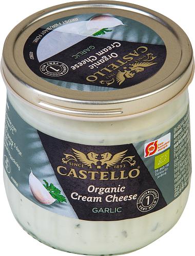 Castello® Ekologisk färskost med vitlök