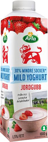 Arla Ko® Mild yoghurt jordg lättsockr 1,5%