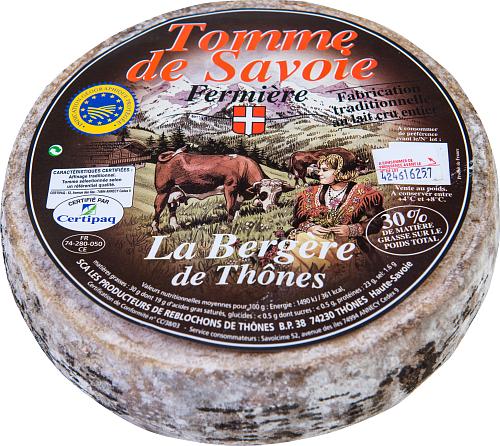 La Bergere Tomme de Savoie ferm opa30% hårdost