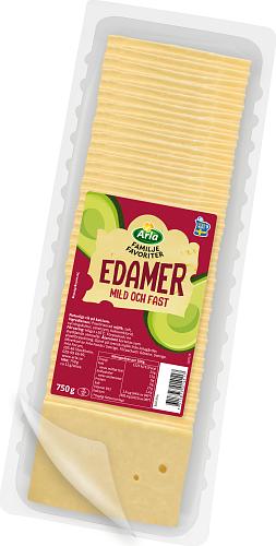Arla® Familjefav Edamer skivad ost