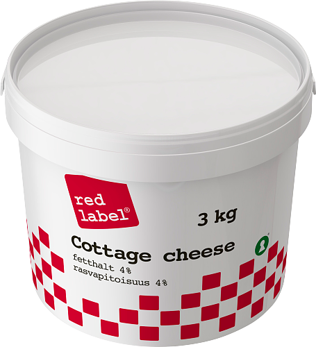 Red Label® Cottage cheese 4% hink