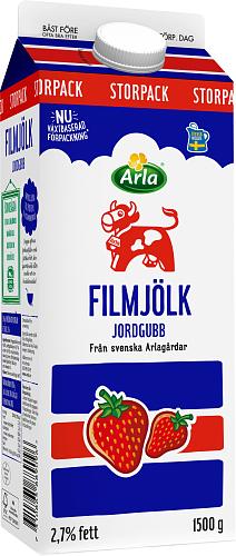 Arla Ko® Filmjölk jordgubb 2,7%