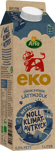 Arla Ko® Ekologisk Ekologisk färsk lättmjölk 0,5%