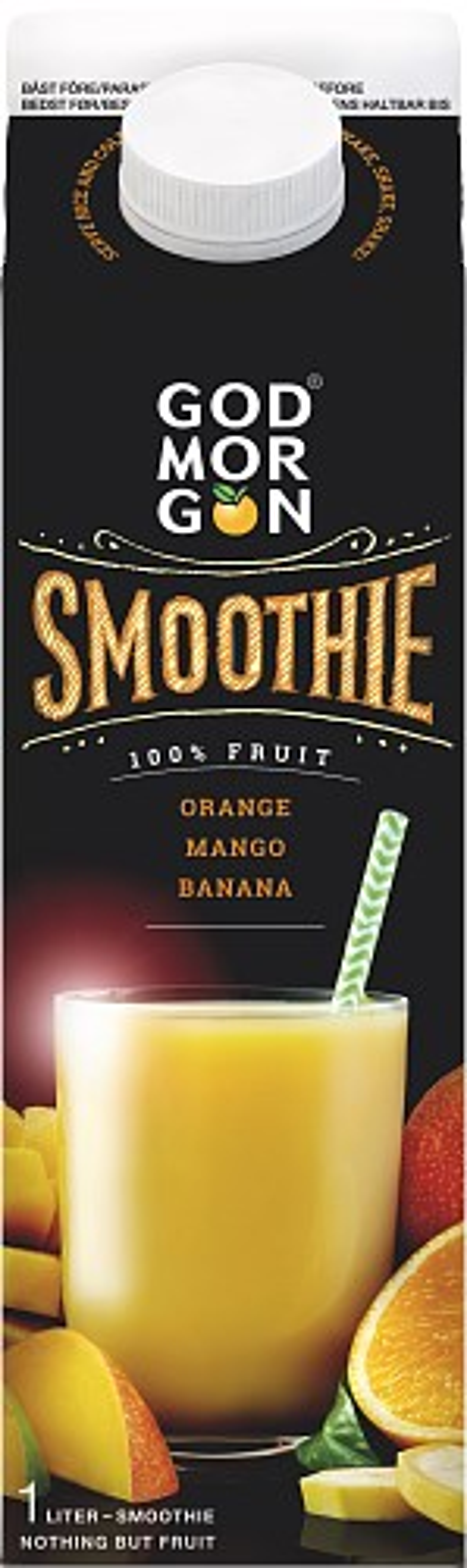 God Morgon® Smoothie Mango Orange (Banana)