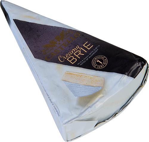 Castello® Creamy brie vitmögelost