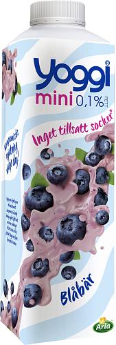 Yoggi® Mini yoghurt blåbär