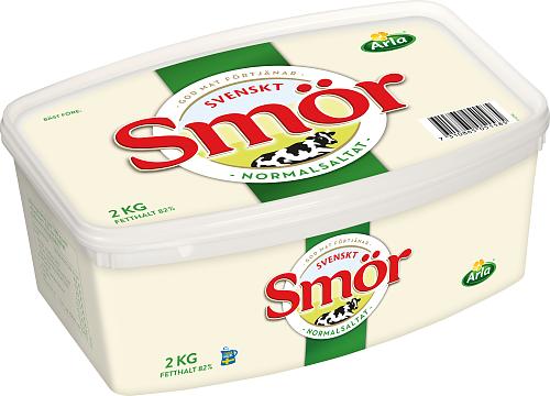 Svenskt Smör från Arla Normalsaltat smör 82%